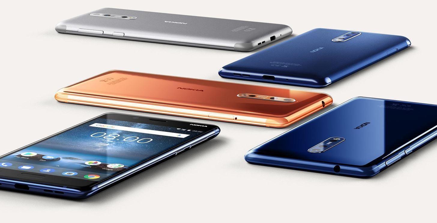 Nokia выпустила свой первый смартфон на Android (meet nokia 8 first android flagship from iconic brand.w1456)