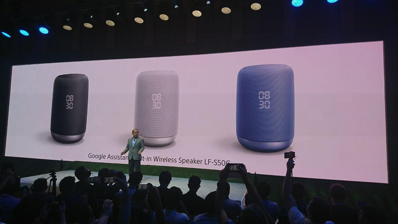 IFA 2017. Sony представила колонку с Google Assistant и беспроводные наушники (photo 2017 08 31 16 16 39)