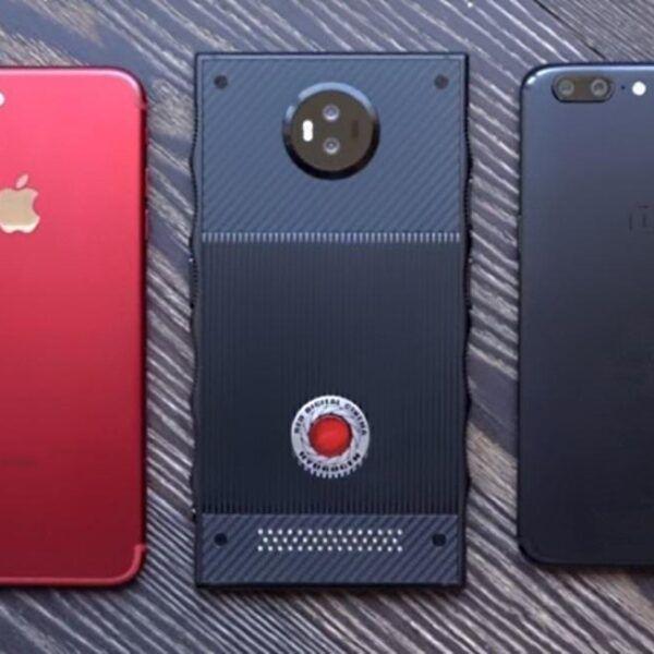 Видео спрототипом: внешний вид ицена RED Hydrogen One (tsena RED Hydrogen One 2)