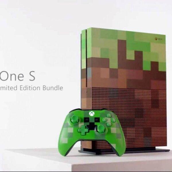 Новый XBOX выглядит так, будто он из Minecraft (xboxonesminecraft.0 1)
