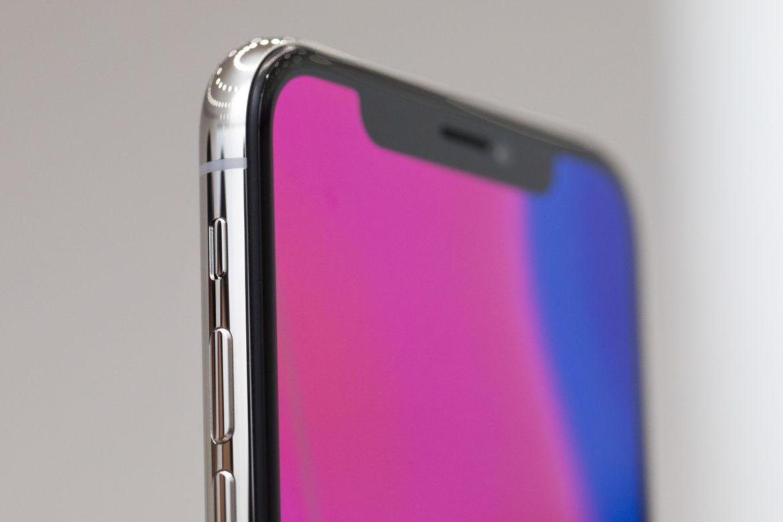 Верхняя панель iPhone X