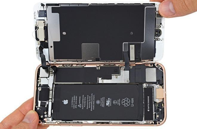 Разбор iPhone 8 (22937 28388 170921 Teardown l)
