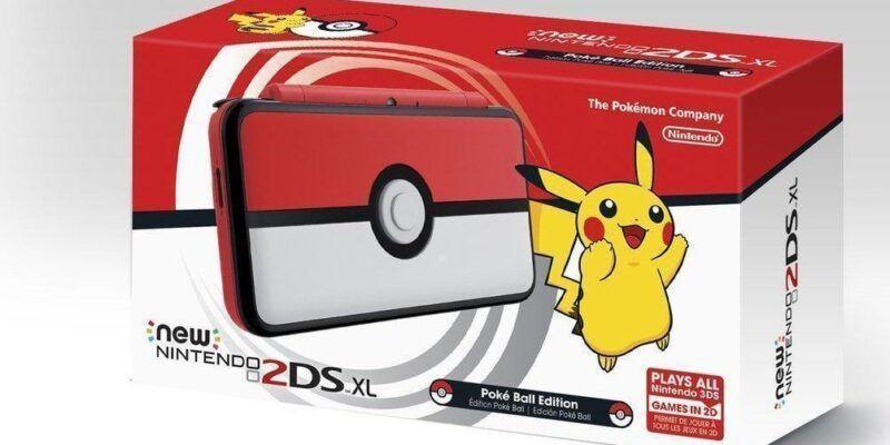 Nintendo выпустила 2DS XL в виде Покебола (DJouSNTWAAA7GA4.0 2 e1505364793174)