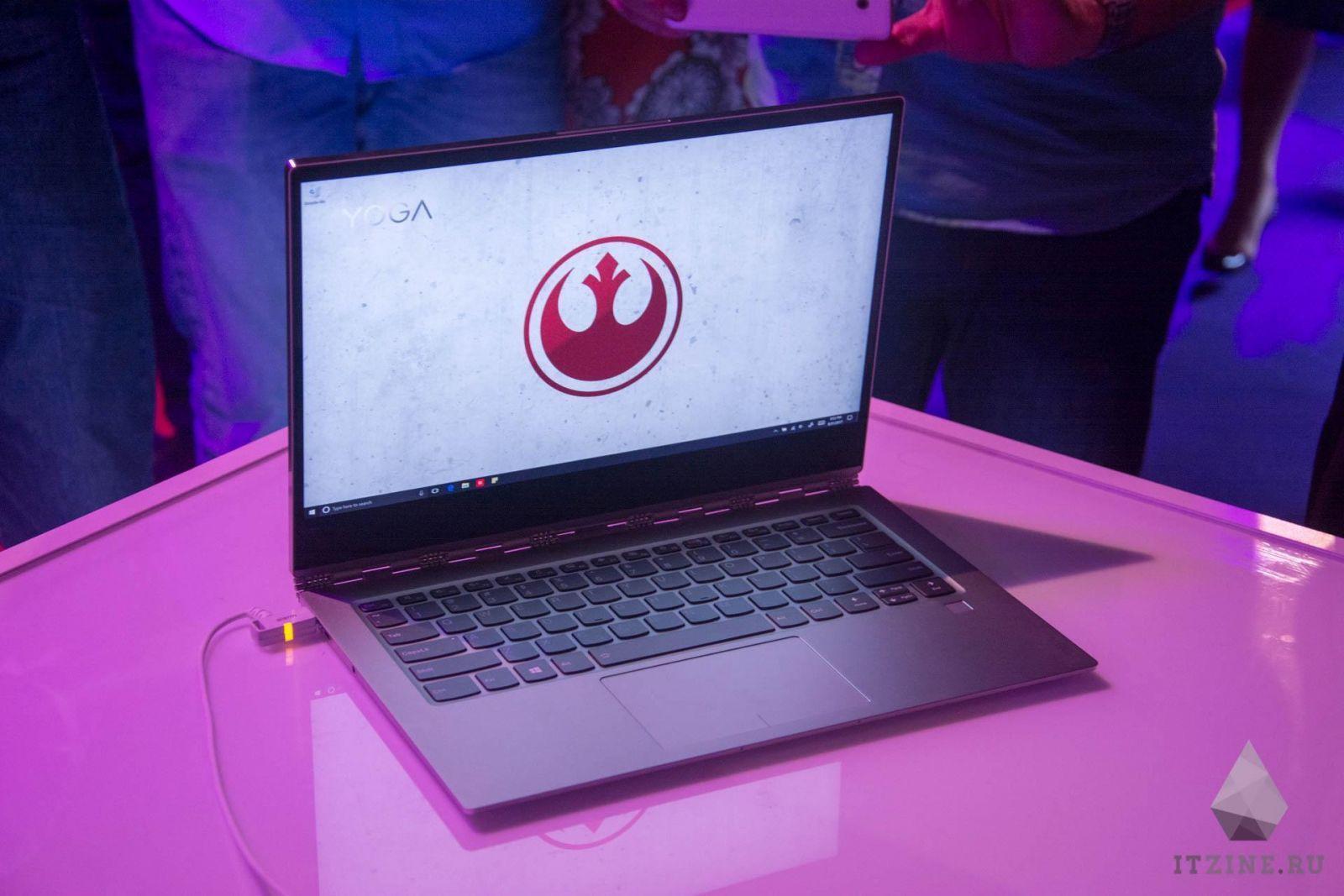 IFA 2017. Lenovo представила ноутбук Yoga 920 и его специальные издания со Star Wars (DSC 4808)