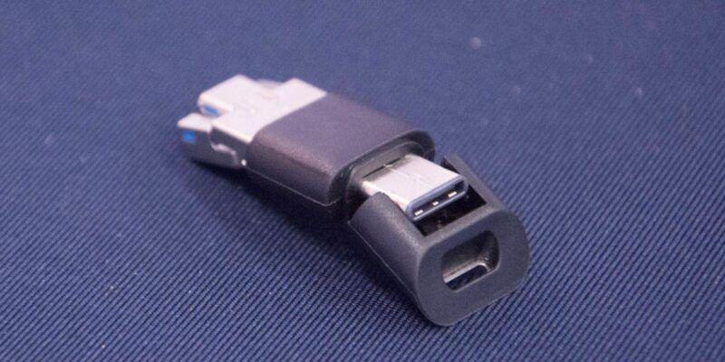 IFA 2017. Silicon Power сделала флешку с USB, USB-C и microUSB для смартфонов (DSC 5114 e1504278876174)