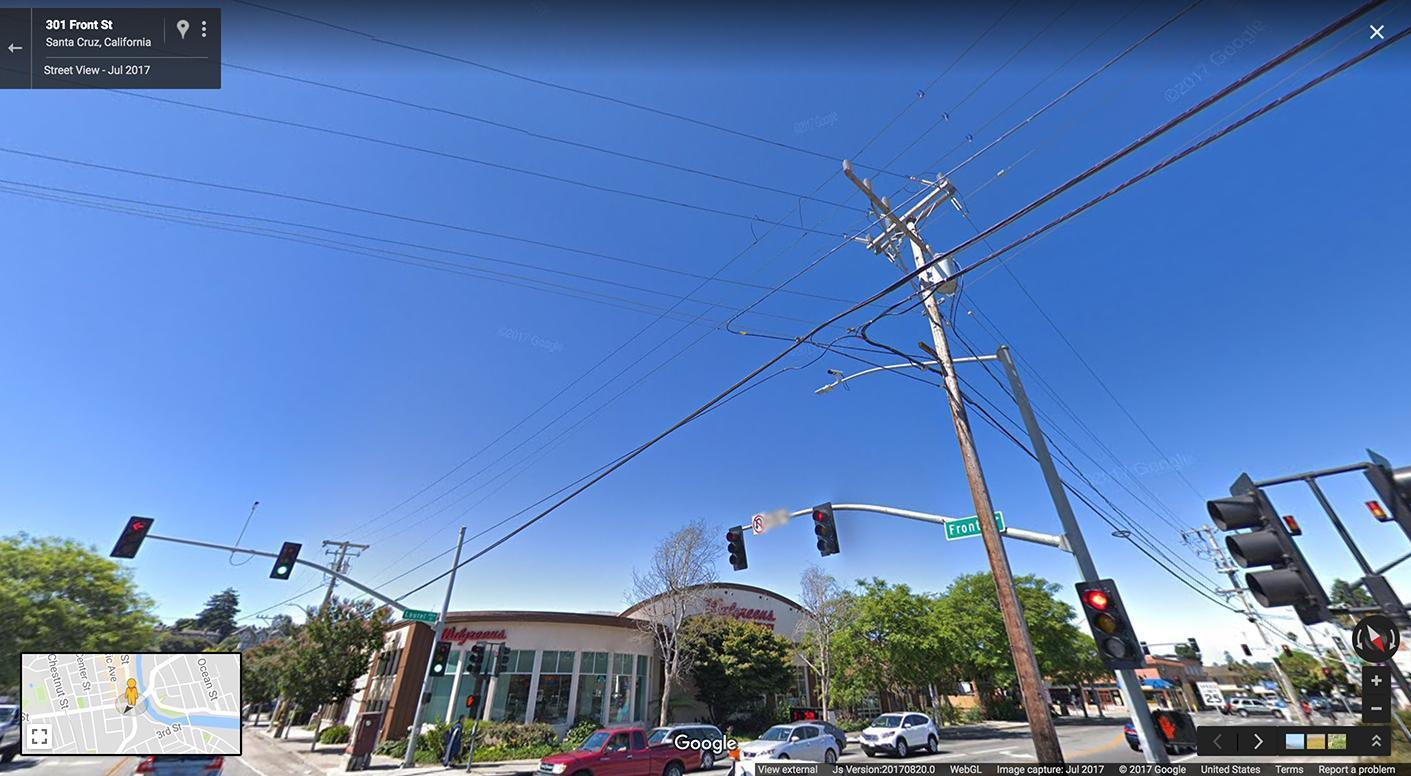 Google обновила камеры Street View впервые за 8 лет (Front Street new)