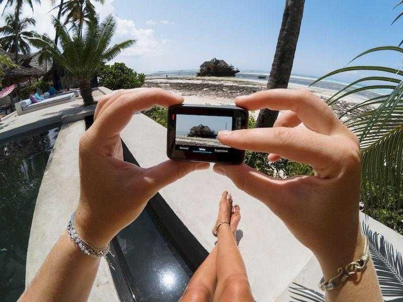 GoPro выпустила новые камеры: HERO6 и Fusion (GoPro Hero6 Hero 6 Black 1 sw)