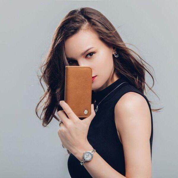 Moshi выпустила чехлы для iPhone 8 и iPhone X (Overture Caramel Brown LS)