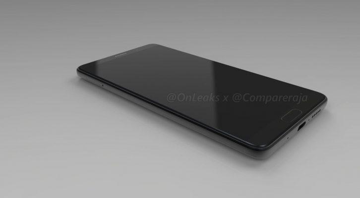 Новый Huawei Mate 10 появился на рендерах (Renders of the Huawei Mate 10 2)