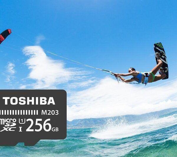 IFA 2017. Toshiba представила защищённую карту microSD (Toshiba microSD M203 IFA2017)