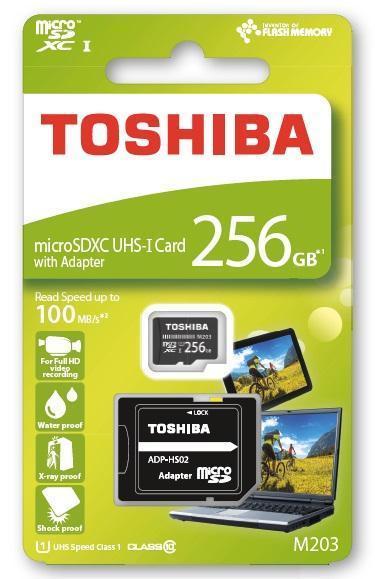 IFA 2017. Toshiba представила защищённую карту microSD ()