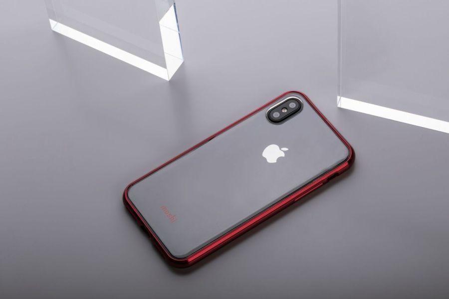 Moshi выпустила чехлы для iPhone 8 и iPhone X (Vitros Crimson Red LS)