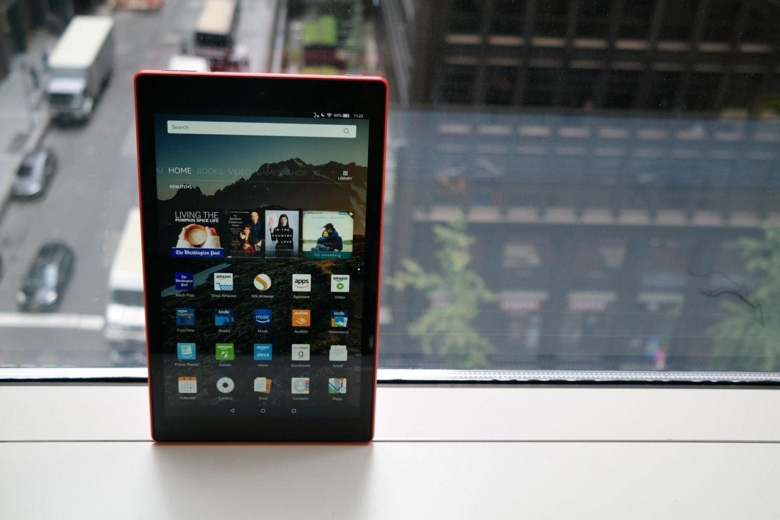 Amazon анонсировала новый планшет Fire HD 10 (amazon fire hd 10 2017 10)