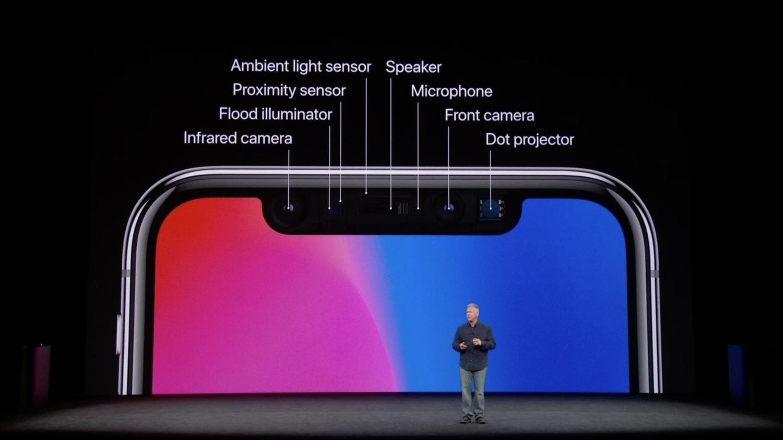 5 причин купить iPhone X (apple iphone x 8 plus face id sensors)
