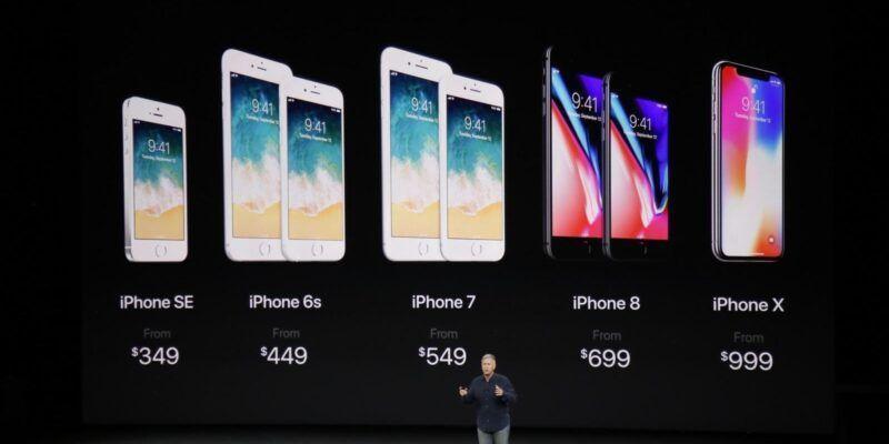 Акции Apple упали после анонса iPhone X (apple17 2774)
