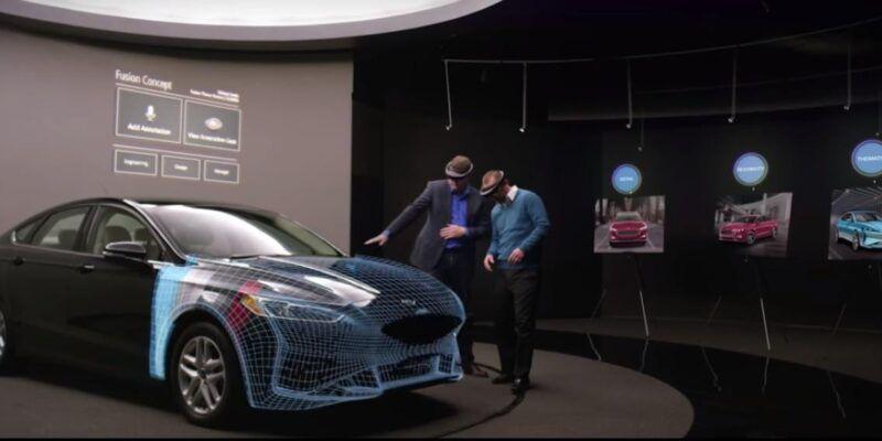 В Ford пользуются Microsoft HoloLens (ford gololenz)