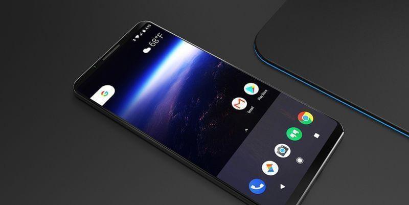 Google Pixel 2 получит защиту от влаги (google pixel 2 concept)