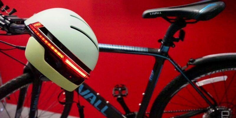 IFA 2017. Livell показала велошлем в стиле Робокопа (helmetphonelede)