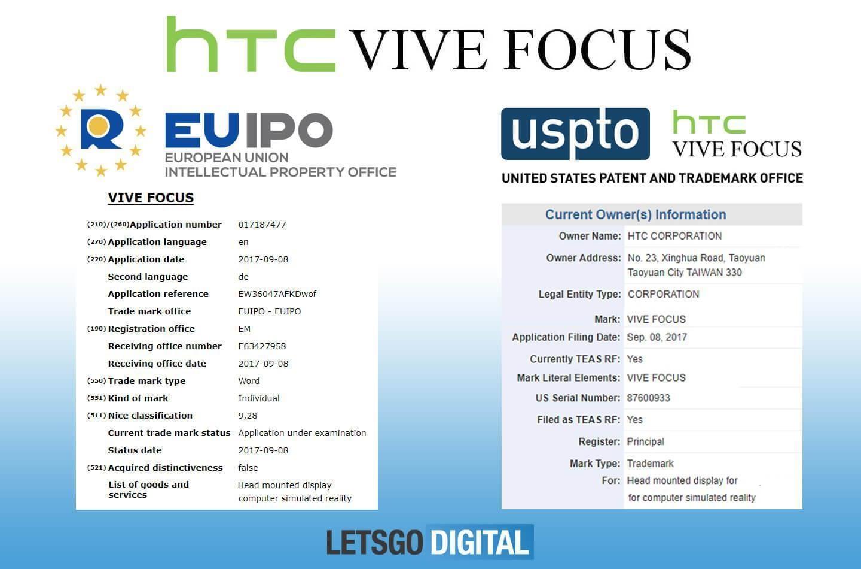 HTC выпустит автономный VR-шлем Vive Focus (htc vive focus)