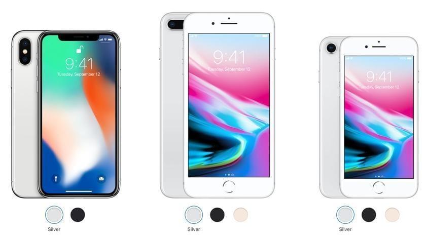 Цены на iPhone 8 и iPhone X в России (iphone 8 ukrainian prices)