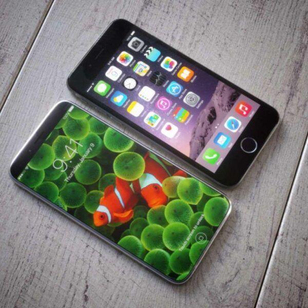 Новый юбилейный iPhone могут назвать iPhone X (iphone x retro iphone7)