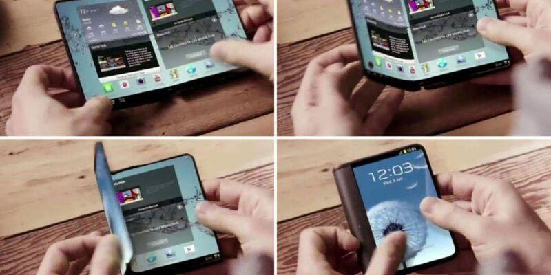 Смартфон Samsung Galaxy X со сгибающимся экраном сертифицирован в Корее (samsung galaxy x main)