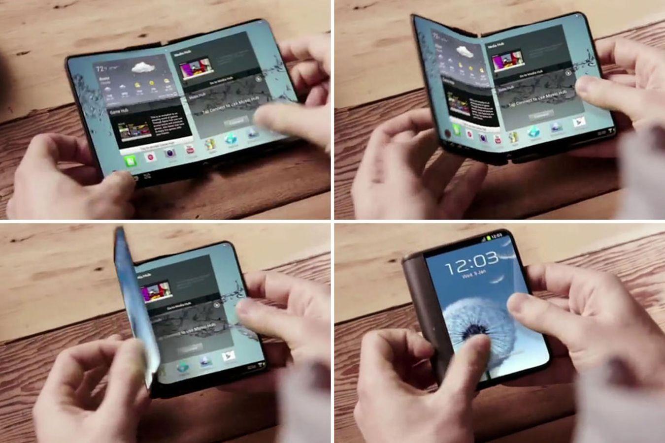 Смартфон Samsung Galaxy X со сгибающимся экраном сертифицирован вКорее