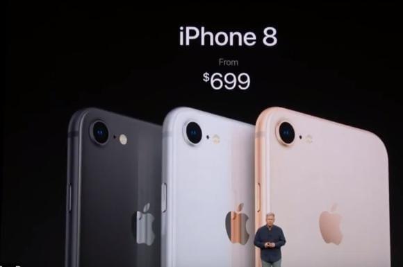 Apple презентовала iPhone 8, iPhone 8 Plus и iPhone X (tsena)