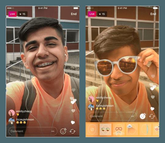 В Instagram появились «маски» для прямых трансляций в Stories (tumblr inline owlft9UeCd1qm4rc3 540)