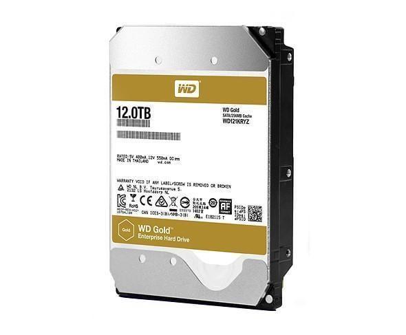 Western Digital выпустила жёсткий диск WD Gold на 12 Терабайт (wd 12tb hdd)
