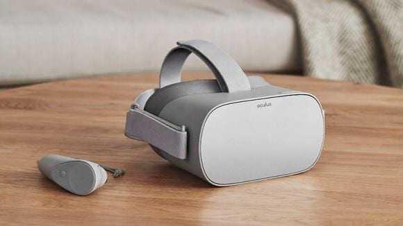 Цукерберг представил VR-шлем Oculus Go (517346)