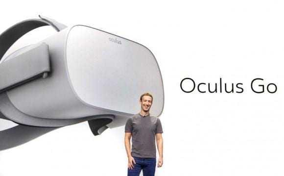 Цукерберг представил VR-шлем Oculus Go (517352)