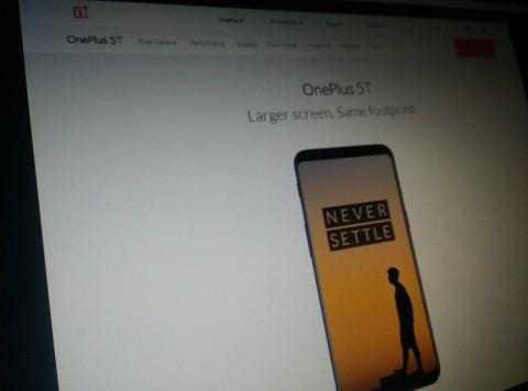 На сайте компании OnePlus заметили OnePlus 5T (AkYDfPhSFz0Vjz20BFAnWa5YEYHbM6Dj)