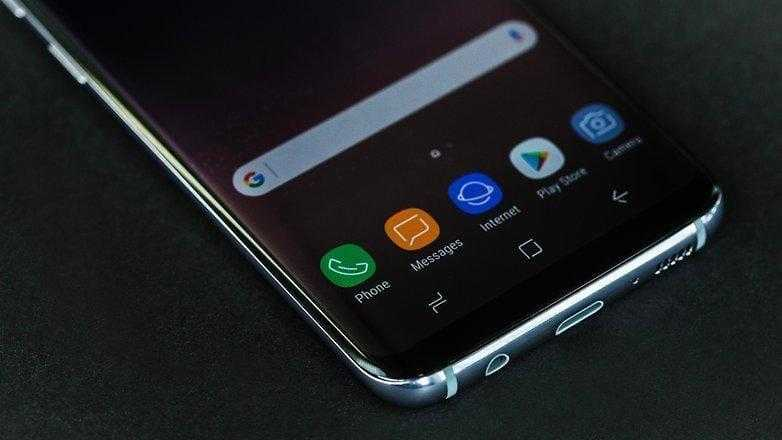 Samsung Galaxy S8 — смартфон года (AndroidPIT Samsung Galaxy S8 2019 w782)