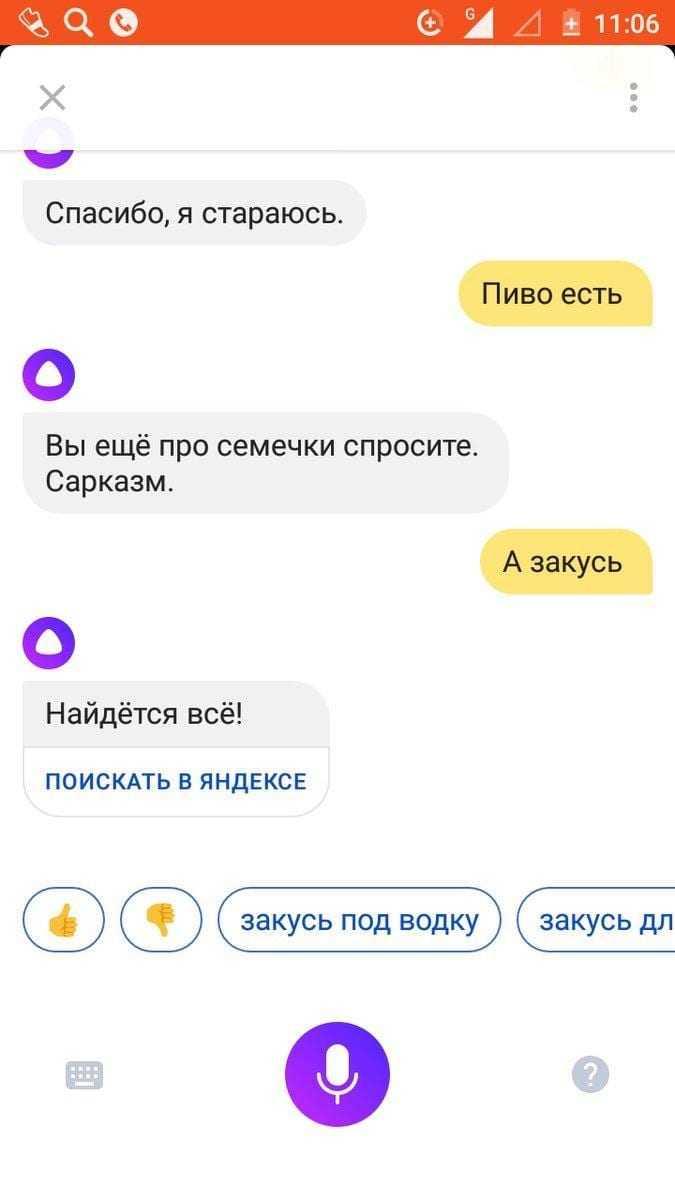 Пользователи издеваются над «Алисой» ()