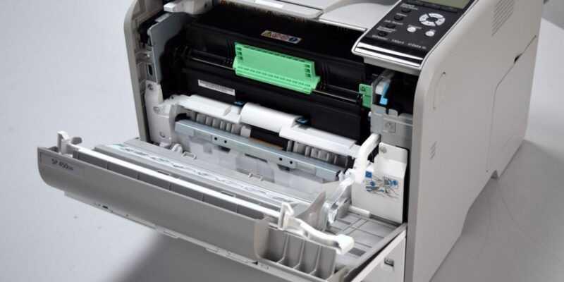 Обзор принтера Ricoh SP 450DN. Быстрая печать для офиса (DSC 0757)