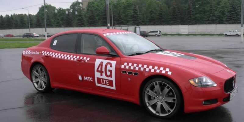 МТС запустил собственное такси (MTS 4G 2)