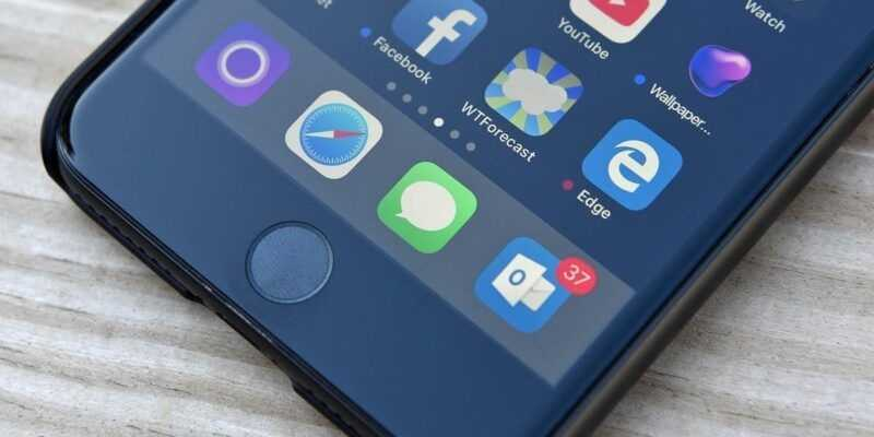 Microsoft начала тестирование браузера Edge для iOS и Android (Microsoft Edge logo iphone 0)