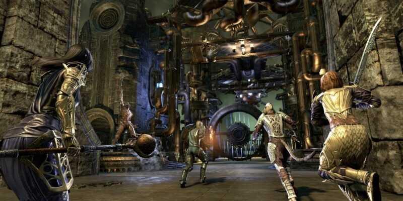 Новое дополнение к The Elder Scrolls Online уже доступно на PC (clockwork city 1019682)