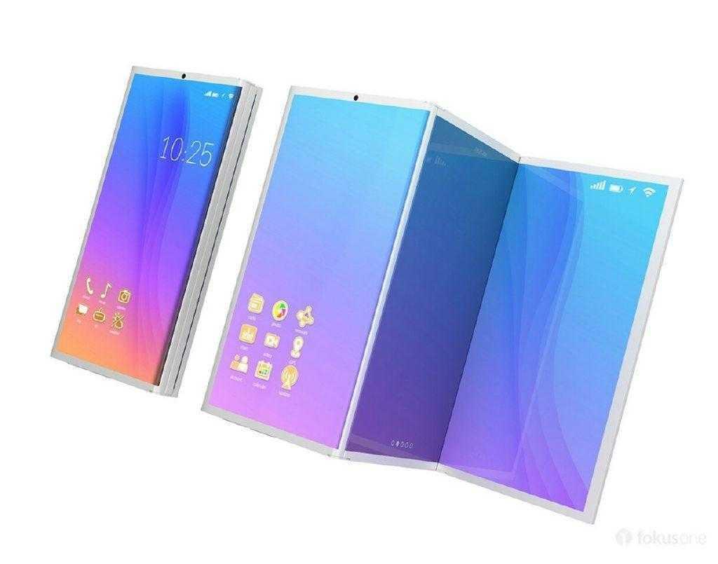 Сгибающийся Samsung Galaxy X выпустят ограниченным тиражом (concept render galaxy)
