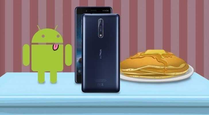 Смартфоны Nokia получат обновление до Android P (gsmarena nokia)