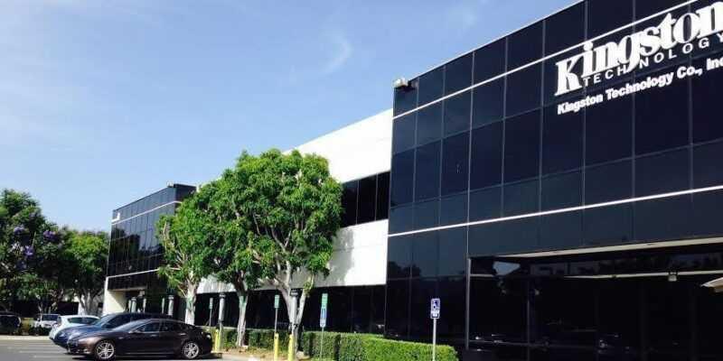 Kingston отмечает 30-летие (kingston technology headquarter building)