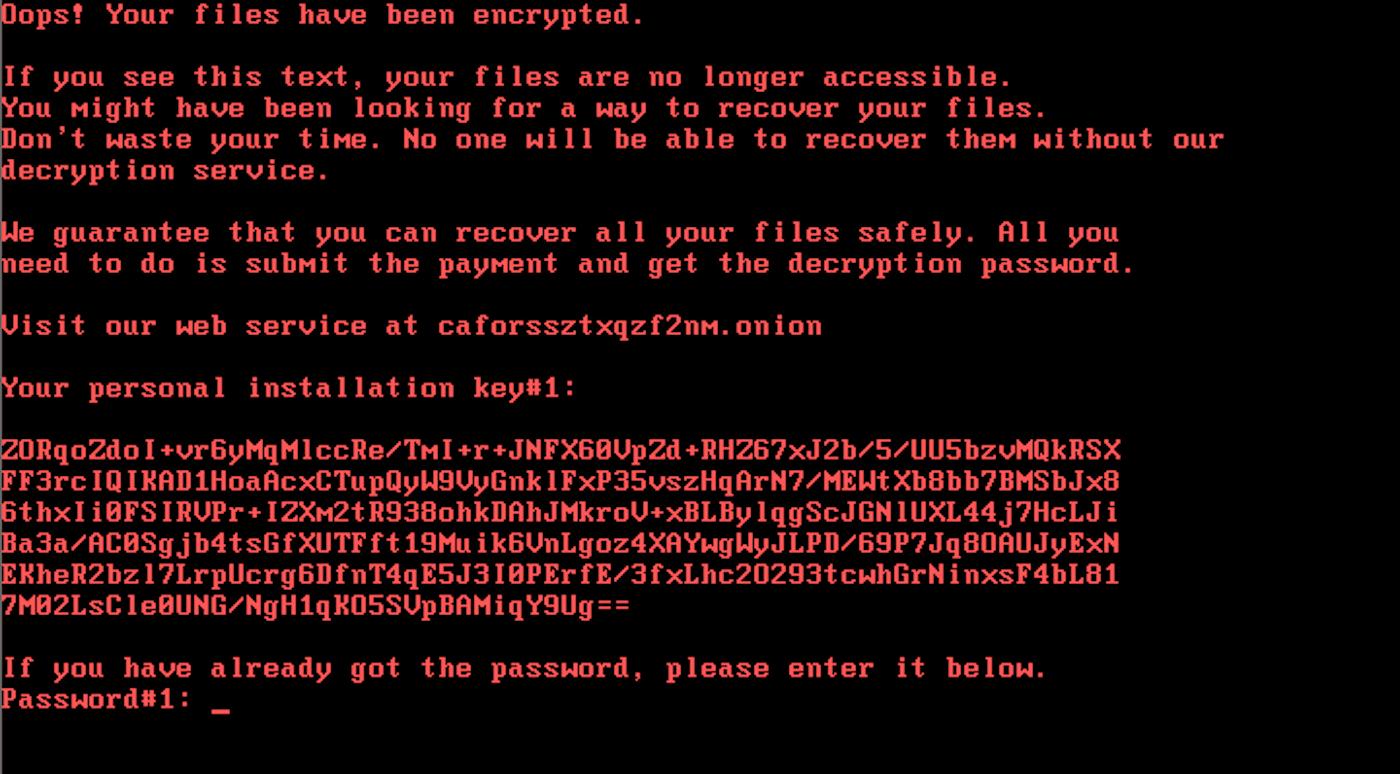 Кибератаки вирусов BadRabbit и Petya оказались связаны (mbrcut)