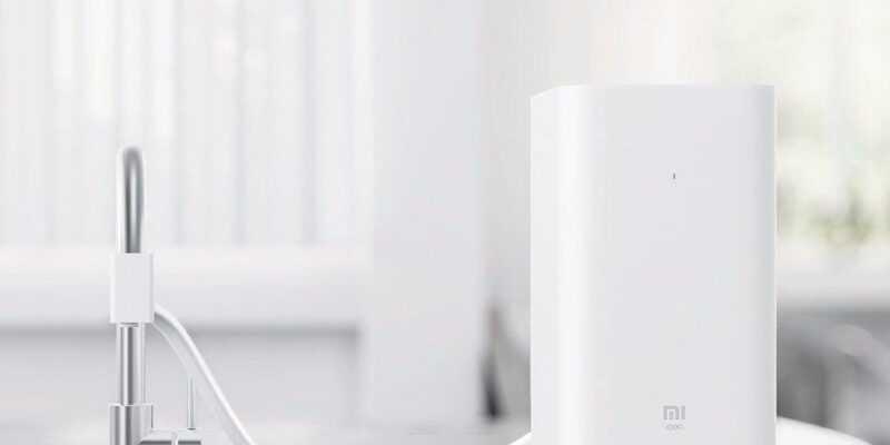 Xiaomi хочет продавать всё (mi water purifier)