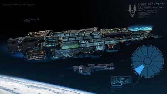 В интернете появились концепт-арты Halo Wars 3 ()