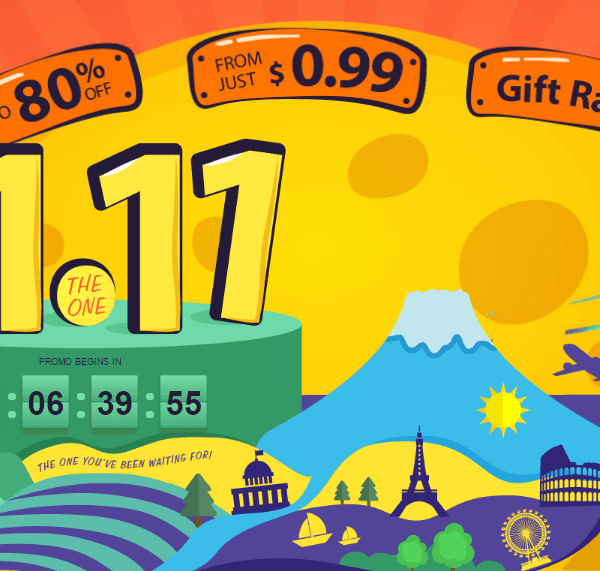 Распродажа GearBest на 11.11 (11115 2)