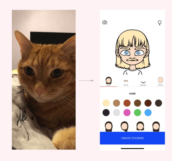 Разработчик «ВКонтакте» запустил приложение для генерации стикеров из фотографий пользователя (Bez nazvaniya)