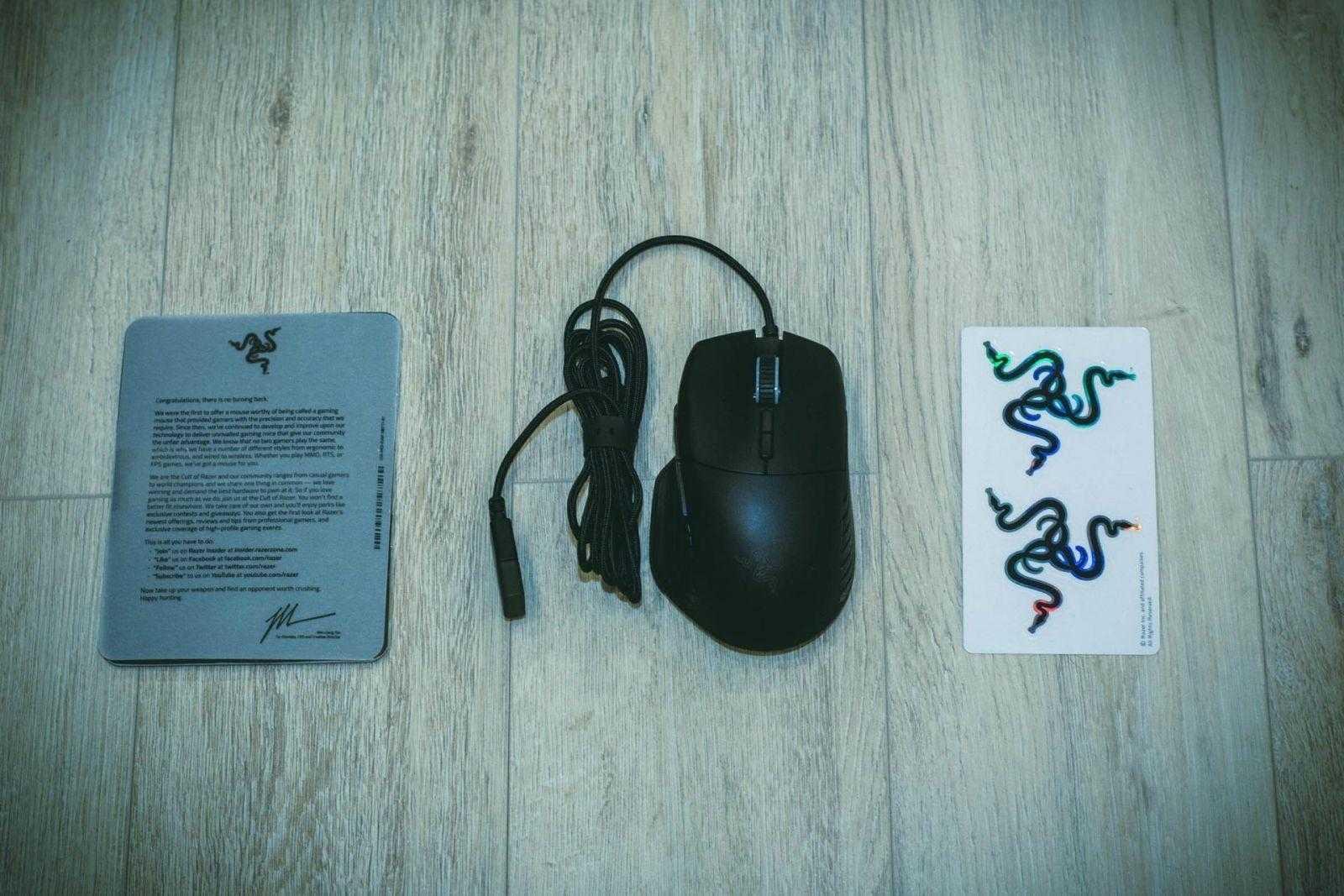 Обзор Razer Basilisk. Твои правила игры (DSC 6309)