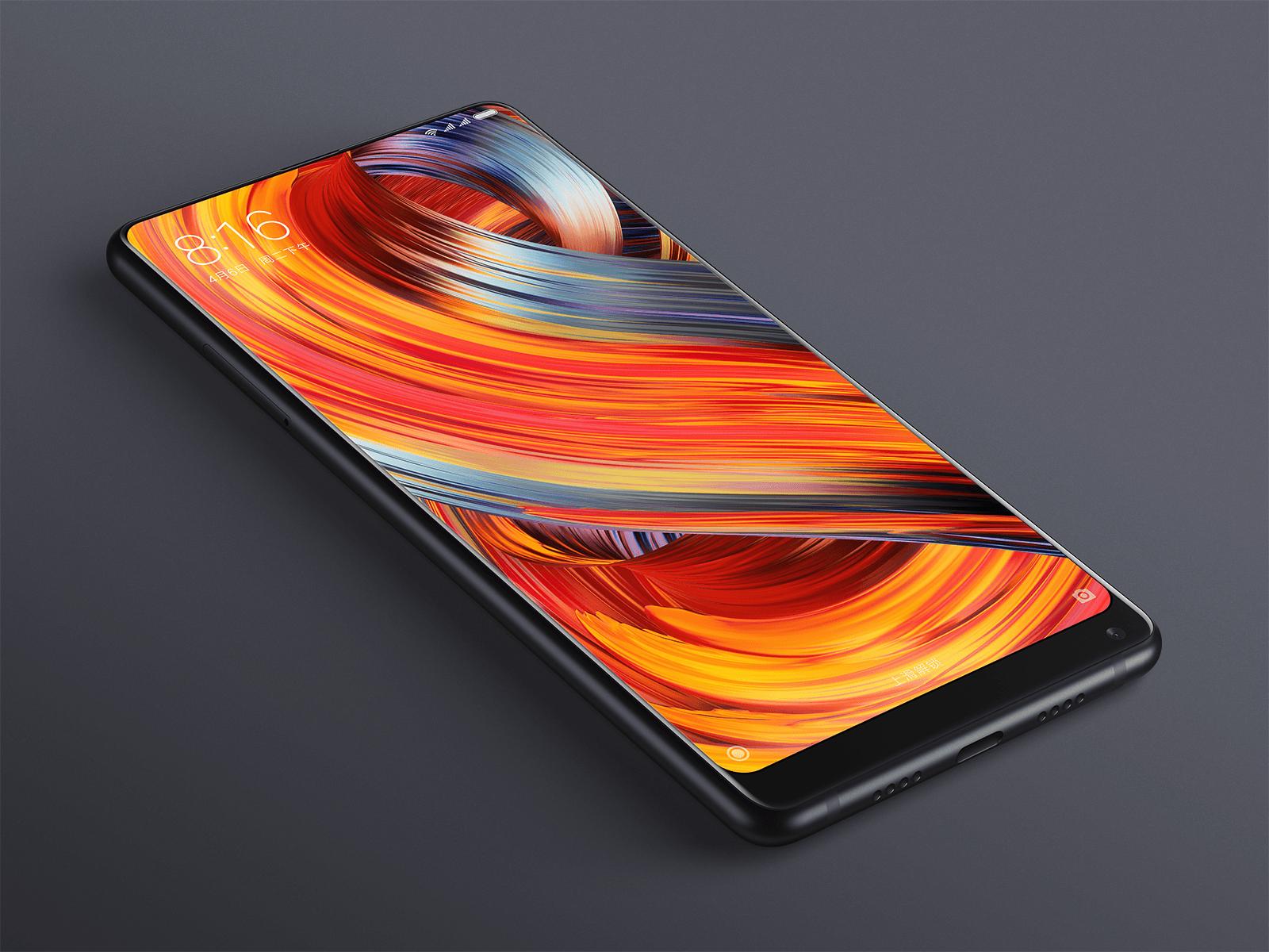 Xiaomi показала Mi Mix 2 (Mi MIX 2 06 preview)