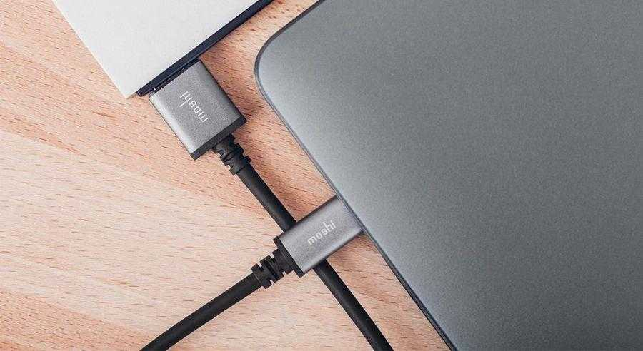 Moshi выпустила аксессуары с Type-С (USB Type S na USB Micro B)